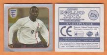 England Andy Cole Blackburn Rovers